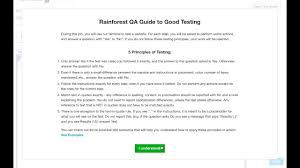 quote job reference rainforest testing tutorial 1 introduction 13th may 2016 youtube