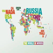 Double Map Giant Double Sided Laminated Map Of The World Poster Gift Ideas