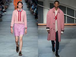 tyler the creator gucci and the rise of pink in men u0027s wardrobes