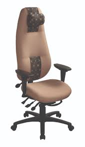 Chair Swivel Mechanism by Geocentric Extra High Back Ergocentric