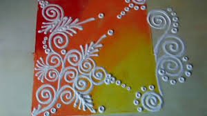 rangoli patterns using mathematical shapes best rangoli designs youtube