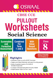 oswaal cbse cce pullout worksheets social science for class 8 old