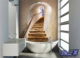 bathroom wallpaper designs 3d wallpaper designs for wall decoration in the home
