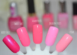 notd shades of pink beautiful solutions