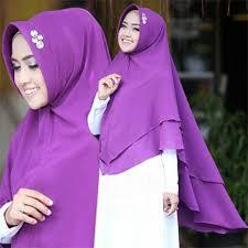 tutorial hijab syar i untuk pernikahan style hijab pesta