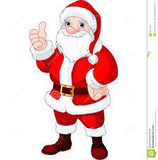 christmas santa claus thumbs up santa claus stock vector illustration of senior 35316190