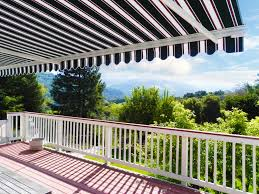 Electric Awning For House Motorized Retractable Awnings Ers Shading San Jose