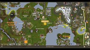 Oldschool Runescape World Map by Where To Find Flax Runescape Map Youtube