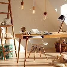 Wooden Chandelier Lighting Aliexpress Com Buy Edison Native Wood Handmade Muuto E27