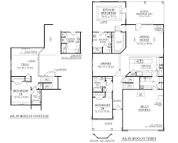 2 floor house plans home design 79 excellent small 3 bedroom house planss