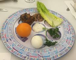 buy seder plate the splintered mind orange on the seder plate