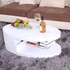 amazon com ospi high gloss white swivel extendable rotatable