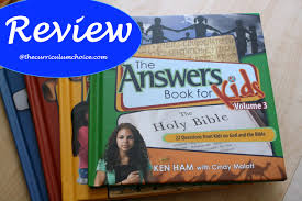 the answers book for kids volumes 1 4 the curriculum choice