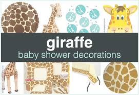 baby shower decorations for giraffe baby shower decorations shower that baby