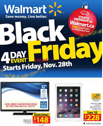 walmart canada black friday flyer 2014 sales deals nov 28 dec 1