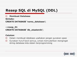 membuat database akademik dengan mysql perancangan basis data ppt download