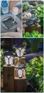 Backyard Solar Lighting Ideas Diy Cedar Cube Landscape Lights Tutorial Diy Solar Inspired Solar