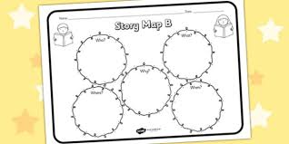 story map b worksheet story map b story stories story map