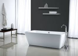 Freestanding Bathtub Canada Faucet Com Mt6932fsr In White By Miseno