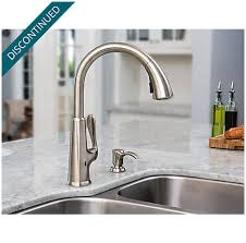 Touch Free Kitchen Faucet Stainless Steel Pasadena Touch Free Pull Kitchen Faucet With