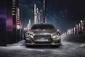 bmw headlights at night bmw compact sedan concept launched might hint at future 1 series