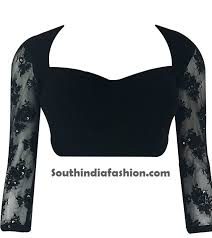 net blouse pattern 2015 latest blouse designs 2013 fashion trends south india fashion