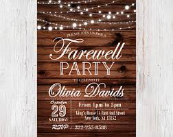 farewell party invitation travel party farewell party invitation envelope postcard