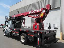 2006 international 4300 elliott l60r sign crane m090951 trucks