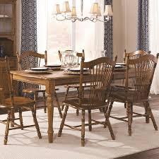 shop brooks furniture classic american oak wood extending dining