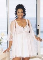 peignoir sets bridal plus size bridal plus size bridal for plus size
