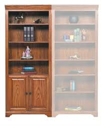 only bookcase with doors and shelves wo hm132bdr