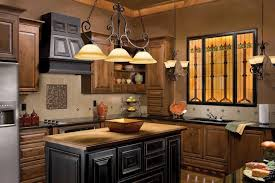 Kitchen Classic Cabinets Traditional Kitchen Cabinets Big Black Dome Pendant Lamp Floor To