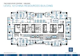 cn tower floor plan fp beijing china resources building201211 jpg 3508 2480 office