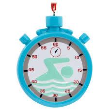 swimming hallmark ornament gift ornaments hallmark