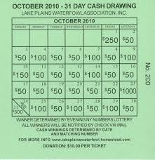 lottery calendar fundraiser template calendar template 2017