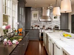 kitchens with stone backsplash gray kitchen cabinet the thing that you should have homesfeed
