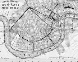 Map New Orleans by Nopl Louisiana Map Collection