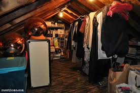 decorations attic walk in closet design with sloping roof design