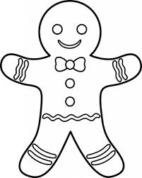 gingerbread coloring page the amazing gingerbread man coloring pages with regard to motivate