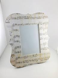 sheet music decor music teacher gift custom picture frame music