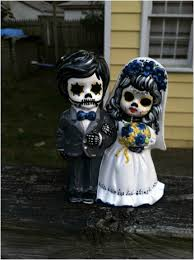 sugar skull cake topper sugar skull wedding wedding photography