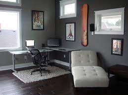 elegant modern style white lounge office decorating ideas for men