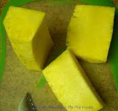 the south padre island flip flop foodie fresh pineapple upside