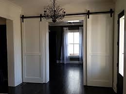 interior modern elegant barn door with classic touch wayne home