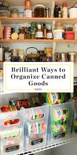 how to store food in a cupboard 6 clever canned food storage organizing ideas kitchn