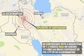 middle east earthquake zone map iran iraq earthquake leaves at least 328 dead and 2 500 injured