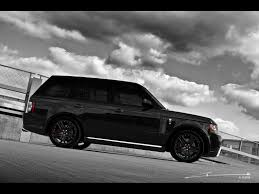 kahn range rover project kahn range rover black vogue 2011 luxury and fast cars