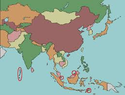 asia map with labels asia map no labels travel maps and major tourist attractions maps