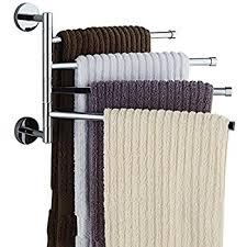 Bathroom Door Hinge Towel Rack Amazon Com Household Essentials H12001 Hinge It Clutterbuster