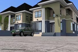 amazing chic 11 twin duplex house plans in nigeria 3 bedroom